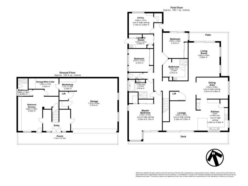 539 Ellison Road, Aspley QLD 4034 Floorplan