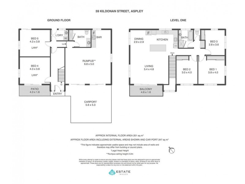 59 Kildonan Street, Aspley QLD 4034 Floorplan