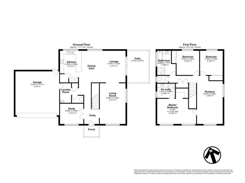 1 Flynn Place, Aspley QLD 4034 Floorplan