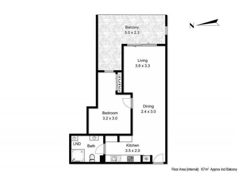310/19 Masters Street, Newstead QLD 4006 Floorplan