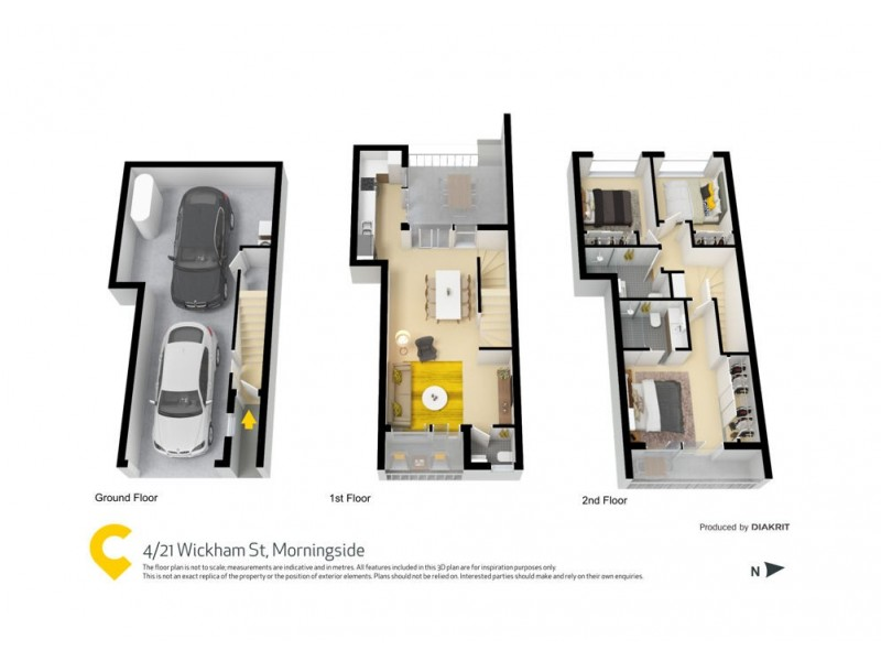 4/21 Wickham Street, Morningside QLD 4170 Floorplan