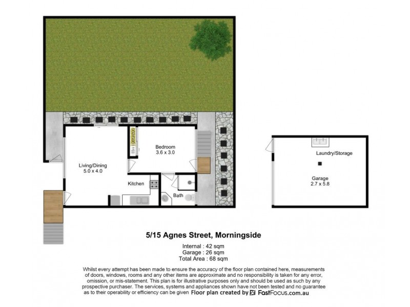 5/15 Agnes Street, Morningside QLD 4170 Floorplan