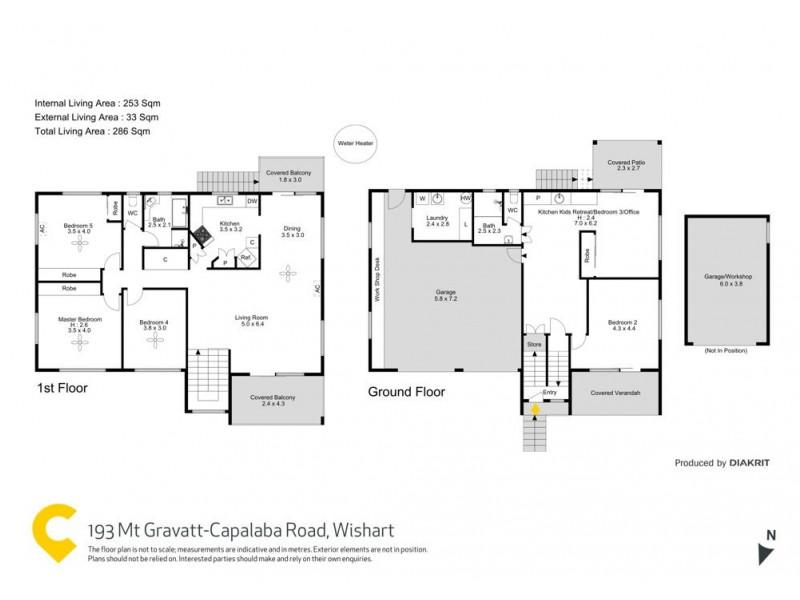 193 Mt Gravatt-Capalaba, Wishart QLD 4122 Floorplan