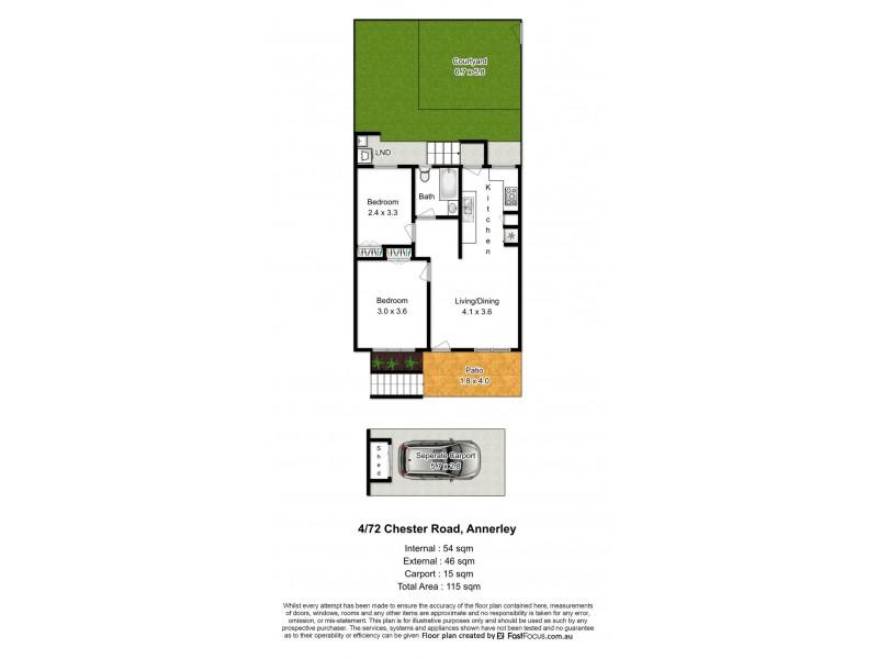 4/72 Chester Road, Annerley QLD 4103 Floorplan