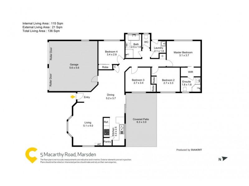 5 Macarthy Road, Marsden QLD 4132 Floorplan