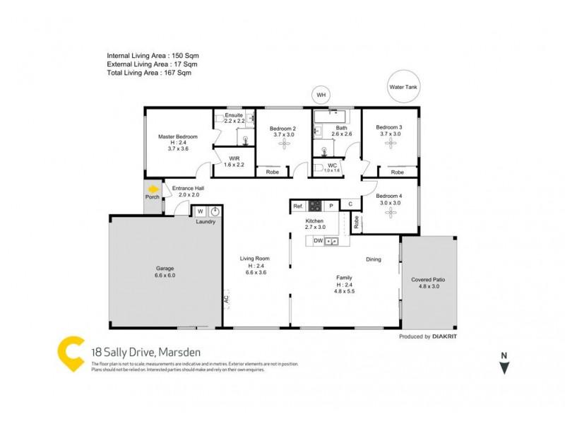 18 Sally Drive, Marsden QLD 4132 Floorplan