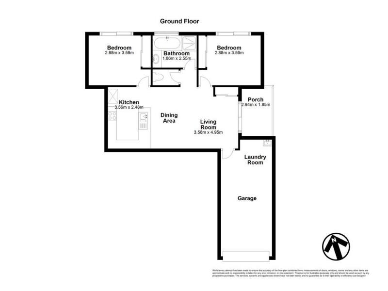 2/4 Emily Street, Marsden QLD 4132 Floorplan
