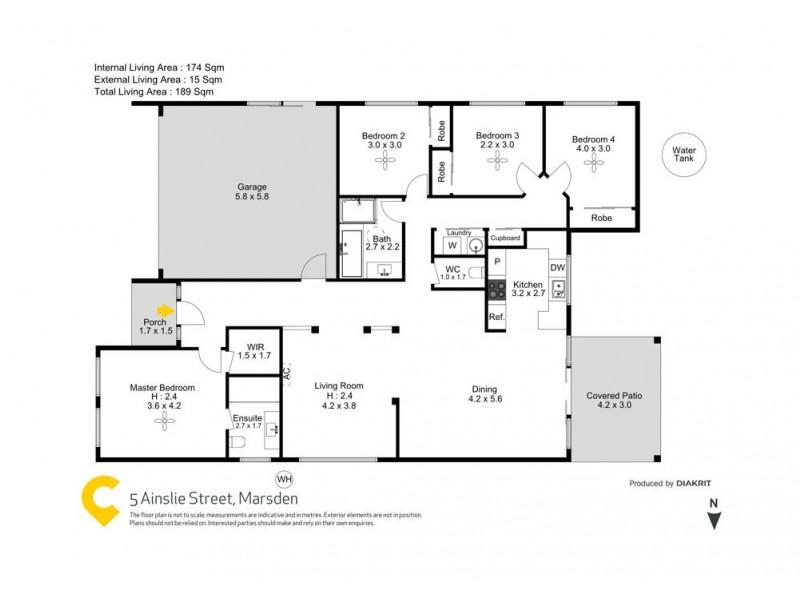 5 Ainslie Street, Marsden QLD 4132 Floorplan