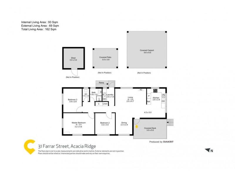31 Farrar Street, Acacia Ridge QLD 4110 Floorplan