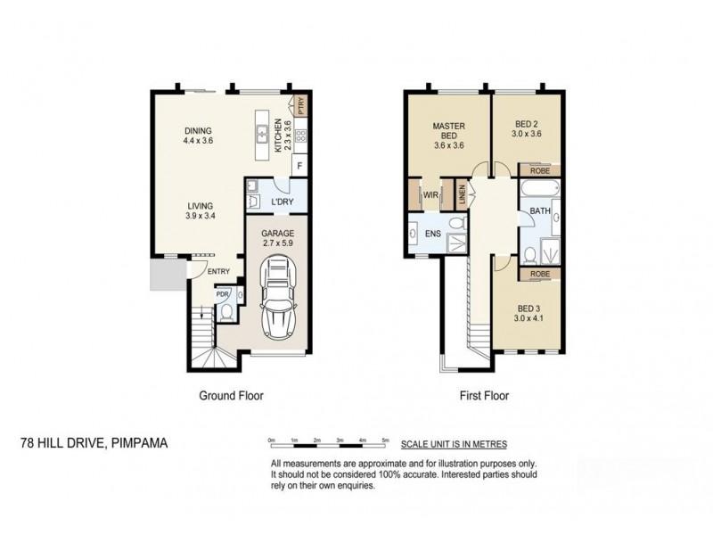 78 Hill Drive, Pimpama QLD 4209 Floorplan