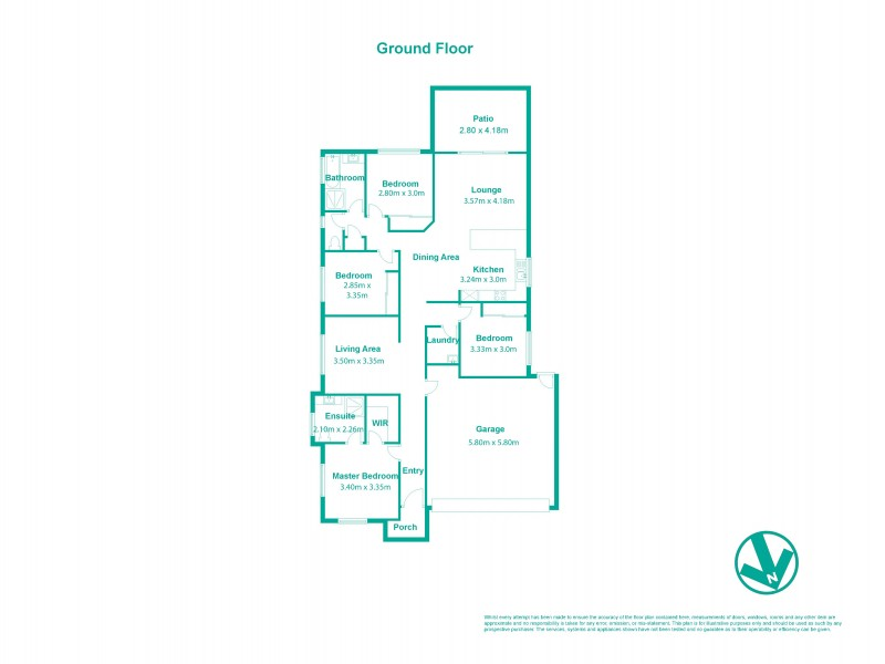 44 Percy Earl Crescent, Pimpama QLD 4209 Floorplan