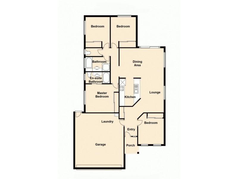 2 Decora Court, Burpengary QLD 4505 Floorplan