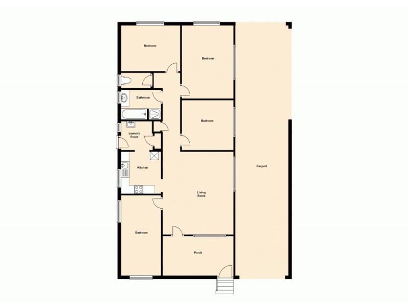 104 Gregory Street, Acacia Ridge QLD 4110 Floorplan