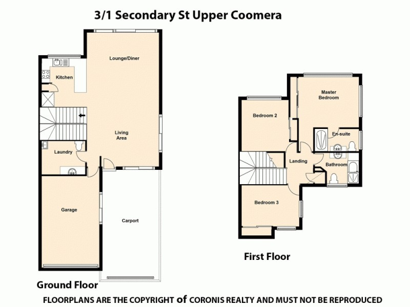 3/1 Secondary Street, Upper Coomera QLD 4209 Floorplan