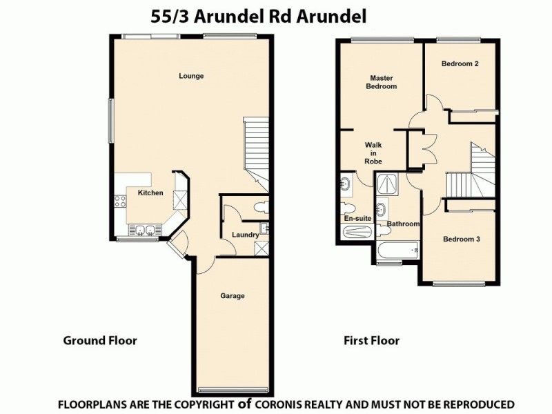 55/3 Arundel Drive, Arundel QLD 4214 Floorplan