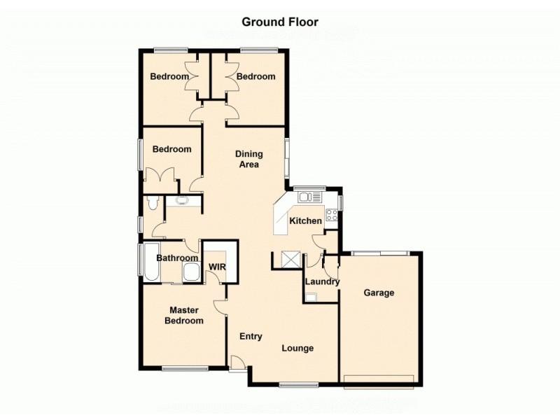 36 O'Briens Road, Burpengary QLD 4505 Floorplan