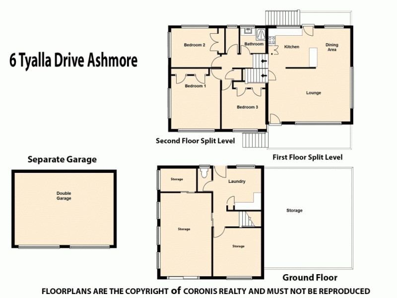 6 Tyalla Drive, Ashmore QLD 4214 Floorplan