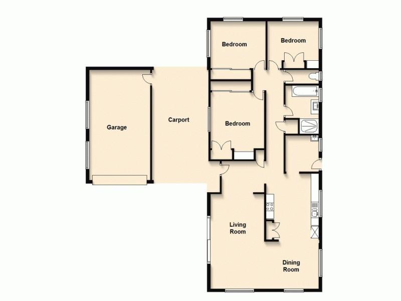 46 Endiandra Street, Algester QLD 4115 Floorplan