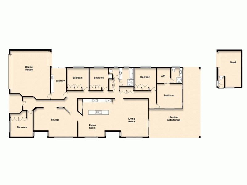 46 Winthrop Street, Wishart QLD 4122 Floorplan