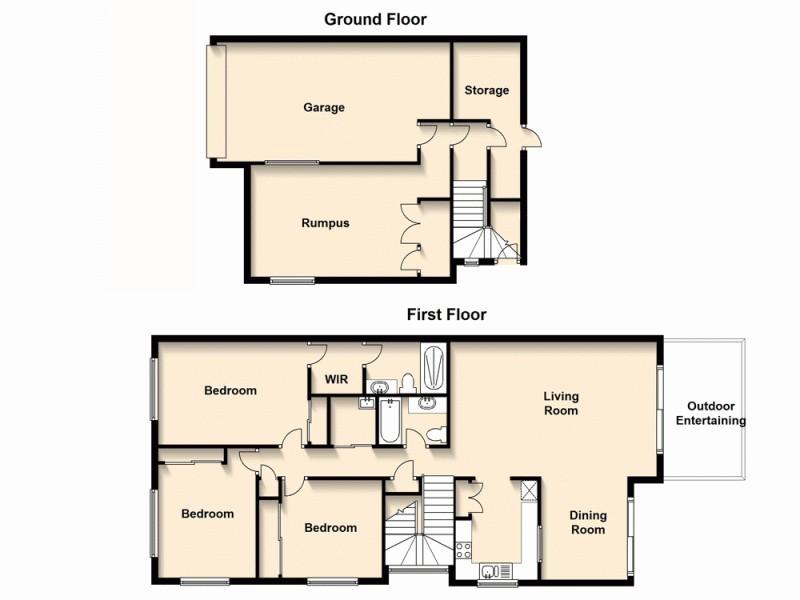 13/360 Simpsons Road, Bardon QLD 4065 Floorplan
