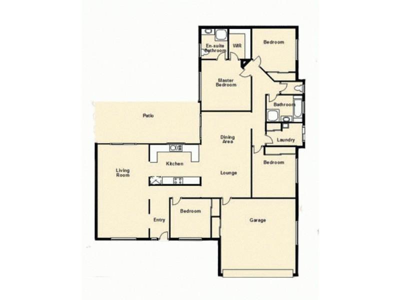 17 Willowleaf Circuit, Upper Caboolture QLD 4510 Floorplan