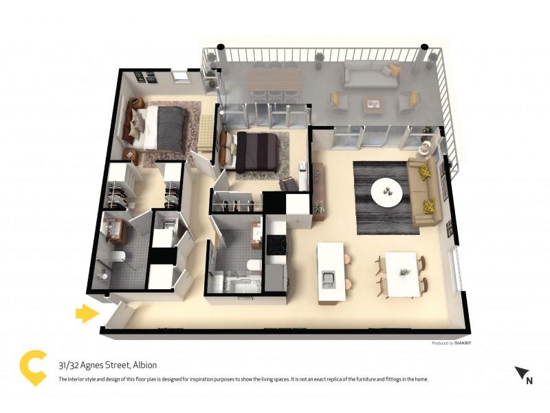31/32 Agnes Street, Albion QLD 4010 Floorplan