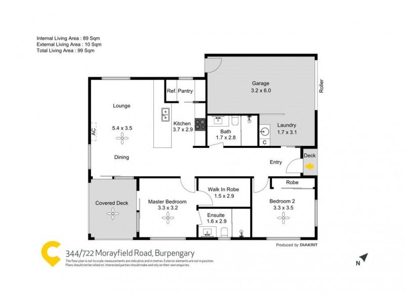 344/722 Morayfield Road, Burpengary QLD 4505 Floorplan