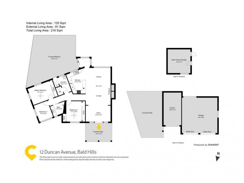 12 Duncan Avenue, Bald Hills QLD 4036 Floorplan