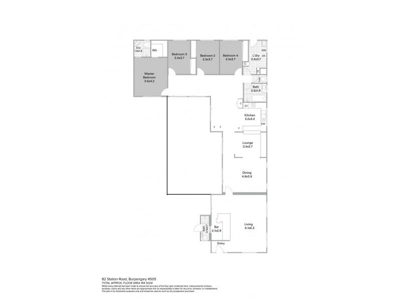 82 Station Road, Burpengary QLD 4505 Floorplan