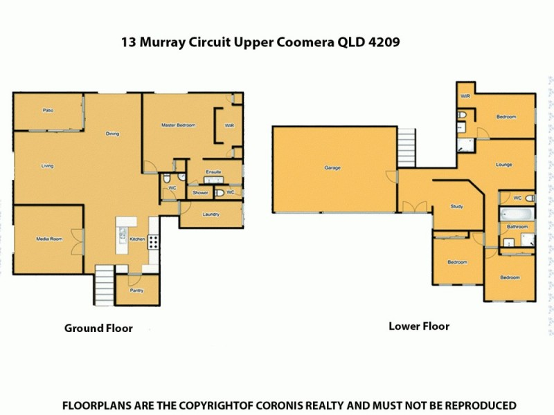 13 Murray Cct, Upper Coomera QLD 4209 Floorplan