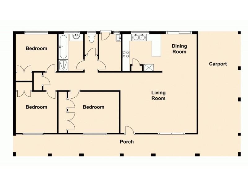 36 Bywater Street, Hillcrest QLD 4118 Floorplan