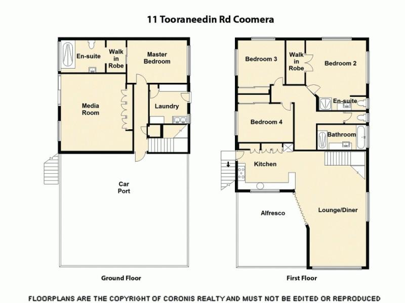 11 Tooraneedin Road, Coomera QLD 4209 Floorplan