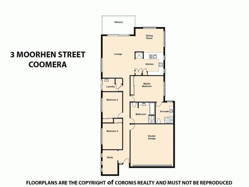 3 Moorhen Street, Coomera QLD 4209 Floorplan