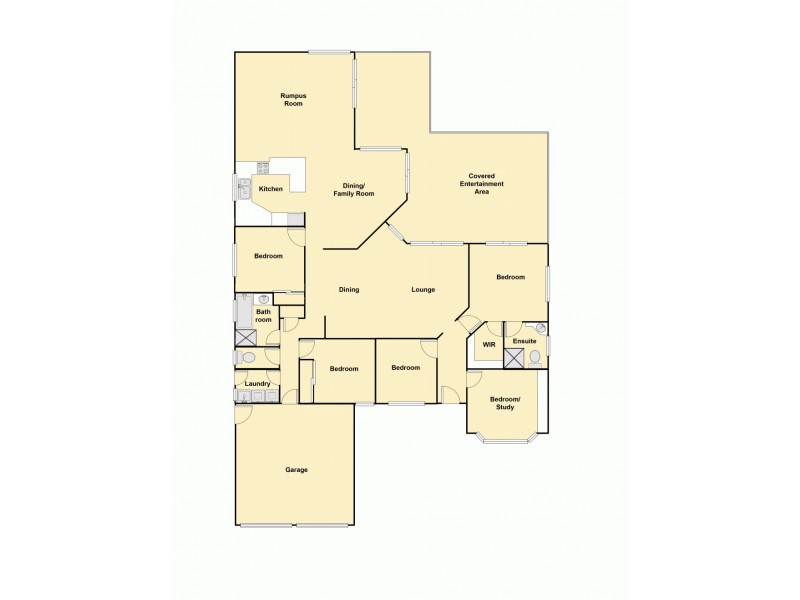 144 Bellini Road, Burpengary QLD 4505 Floorplan
