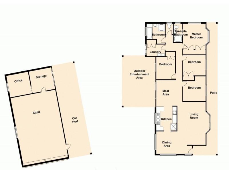 16 Whistler Court, Upper Caboolture QLD 4510 Floorplan