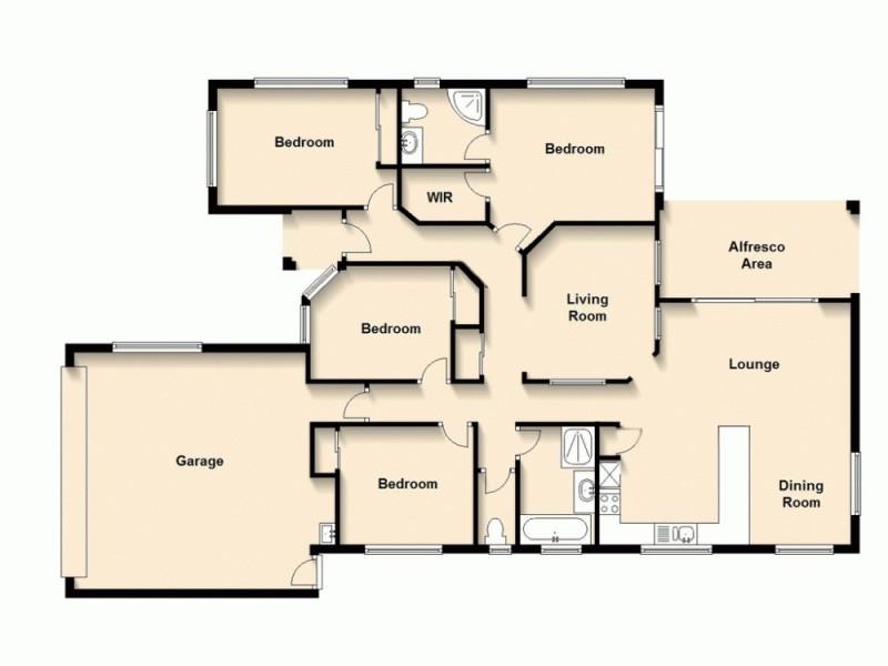 14 Selina Court, Marsden QLD 4132 Floorplan