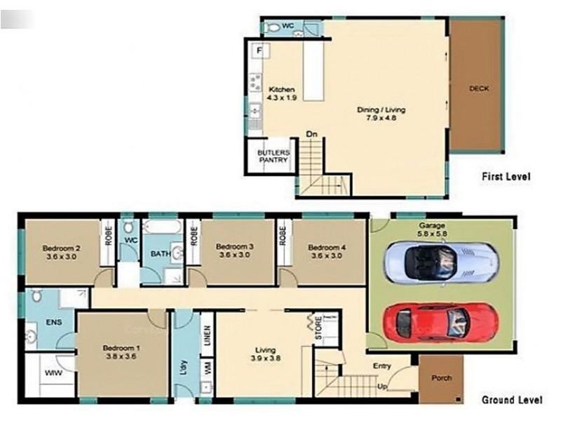 40 Simon Street, Corindi Beach NSW 2456 Floorplan