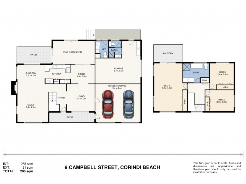 9 Campbell Street, Corindi Beach NSW 2456 Floorplan