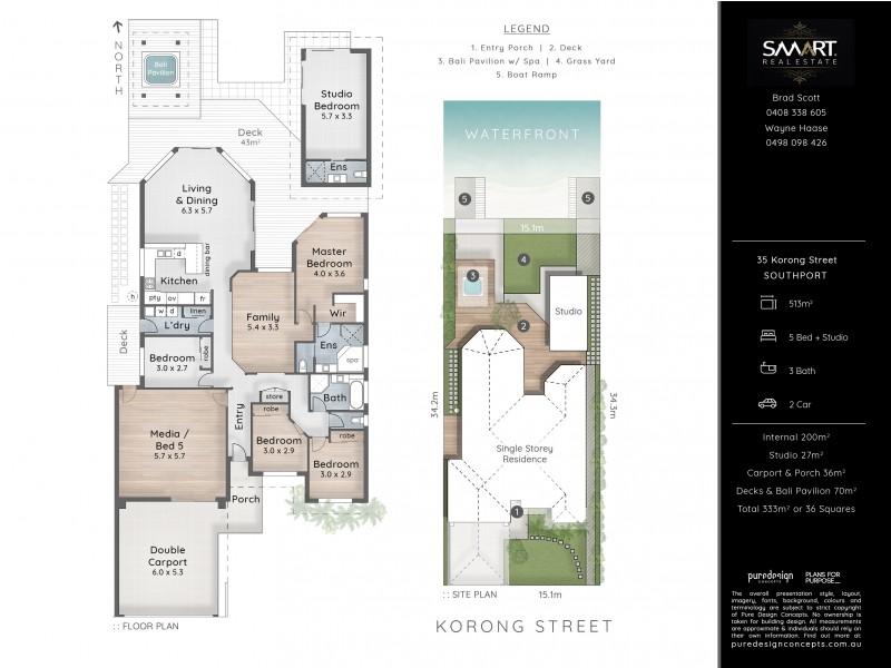 35 Korong Street, Southport QLD 4215 Floorplan