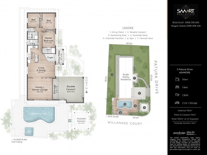 3 Patura Drive, Ashmore QLD 4214 Floorplan