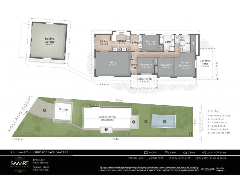 9 Holland Court, Broadbeach Waters QLD 4218 Floorplan
