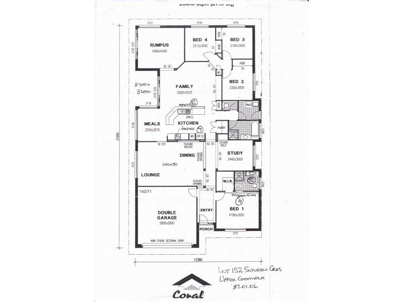 27 Sundew Crescent, Upper Coomera QLD 4209 Floorplan