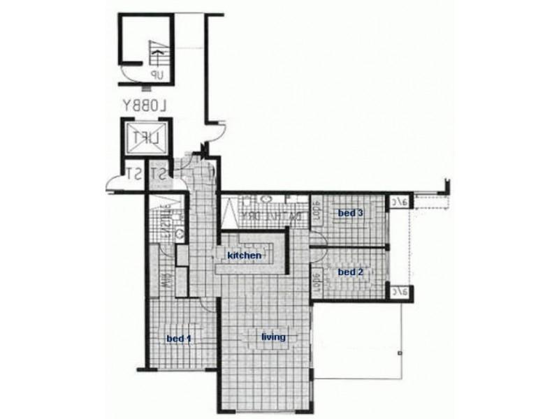 16/3 MANILA PL, Woolner NT 0820 Floorplan