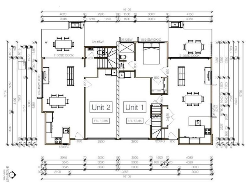 3/10 Burwah Terrace, Caloundra QLD 4551 Floorplan