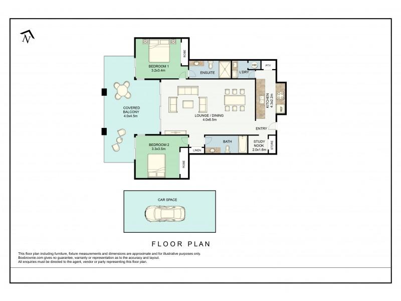 23/7 Canberra Terrace, Kings Beach QLD 4551 Floorplan