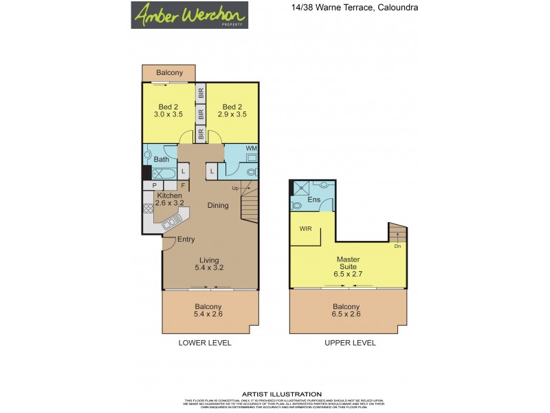 14/38 Warne Terrace, Caloundra QLD 4551 Floorplan