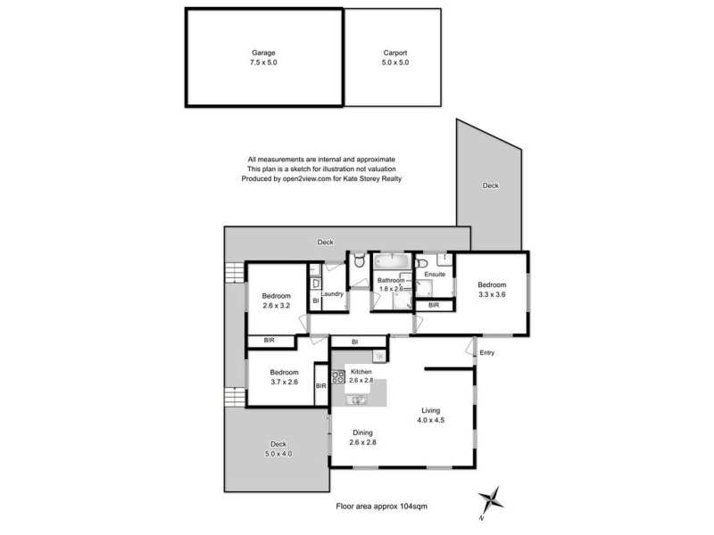 831A Cambridge Road, Cambridge TAS 7170 Floorplan