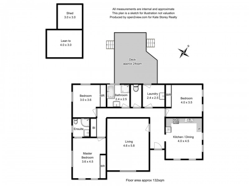 4 Kruvale Court, Primrose Sands TAS 7173 Floorplan