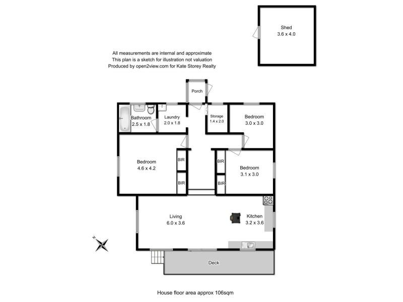 10 Erica Road, Primrose Sands TAS 7173 Floorplan