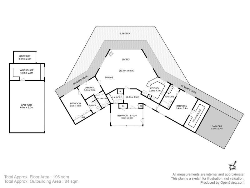 388 Sommers Bay Road, Murdunna TAS 7178 Floorplan
